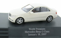 BUSCH - Mercedes-Benz C-Klasse - World Premiere 18.01.2007 - 1:87 Modellauto