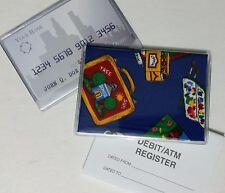 School C Debit Card Holder w/ Debit Register & Photo Insert