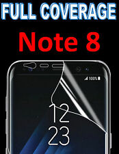FULL COVERAGE 100% HD SCREEN PROTECTOR COVER TPU FILM FOR SAMSUNG GALAXY NOTE 8