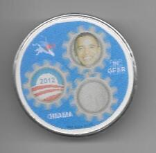 Obama Biden 2012 motion picture flasher pinback button pin