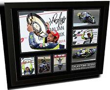 VALENTINO ROSSI 2014 AUSTRALIAN MOTOGP SIGNED FRAMED LIMITED EDITION