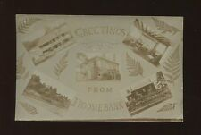 Herefordshire FROOMEBANK M/view c1910/20s RP PPC little faded/overexposed