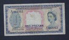 Malaya & British Borneo 1 dollar 1953   (ISW/B26)