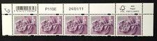 More details for gb stamps regional en41  £1.10  marginal strip of 5 stamps
