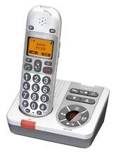 AUDIOLINE BigTel 280 schnurloses Großtastentelefon mit Anrufbeantworter , M98