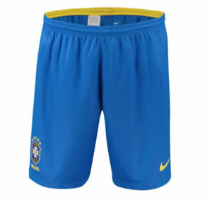 Nike 2018 Brazil CBF Stadium Home Shorts - Samll - 893920-453 World Cup Gold