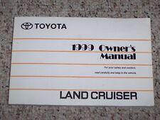 1999 Toyota Land Cruiser Factory Original Owners Owner's User Manual 4.7L V8