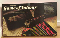 Vintage The Game of Nations Waddingtons 1977