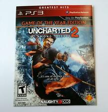 UNCHARTED 2: Among Thieves - Game of The Year Edition - Playstation 3 Disc Only!