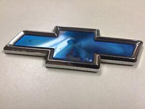 Chevrolet Cavalier Blue Bowtie Trunk Emblem OEM 10189881