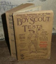More details for 1916 boy scout tests & how to pass them by young badges baden powell scouts