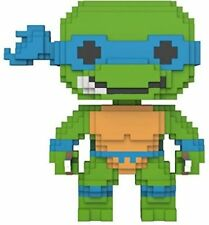 Teenage Mutant Ninja Turtles Pop 8-bit Vinyl Figure Leonardo 9 cm Funko Mini
