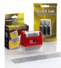 ID Protection Stop Identity Theft Confidential Rolling Privacy Stamp & Refills