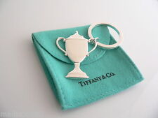 Tiffany & Co Silver Trophy Engravable Key Ring Key Chain Keychain Rare Excellent
