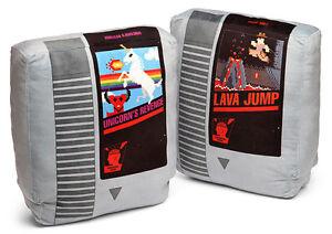 Video Game Cartridge Pillow Set  **Brand New**