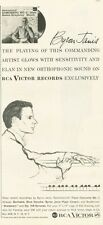 1958 Victor Records Print Ad featuring Byron Janis Concerto No. 3