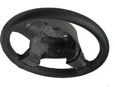Si adatta SUZUKI SX4 06-11 nero perforato in pelle Volante COPERCHIO GRIGIO CUCITURE