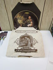 """Knowles Norman Rockwell Plate """"Grandpa'S Treasure Chest"""" Second Plate In Series"""