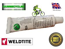WELDTITE Rubber solution 10g Inner Tube Puncture Repair Bike Cycle Tyre RRP £3