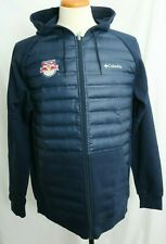 New New York Red Bulls Embroidered Columbia Northern Comfort Hoody Men's L