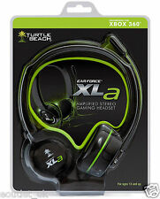 Turtle BEACH EAR FORCE XLA Amplificato Stereo Cuffie Gaming chat per Xbox 360 NUOVO