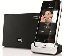 Gigaset SL910A Premium Touchscreen Cordless Phone w/ Answer Machine Single