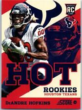 2013 Score Hot Rookies #7 DeAndre Hopkins Texans