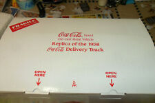 DANBURY MINT 1938 COCA-COLA DELIVERY TRUCK TITLE FREE SHIPING LOT 0 0  1 0 142