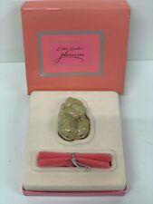 """Estee Lauder Solid Parfum Kompakt cm Welpen """" Verpackt Vintage"""