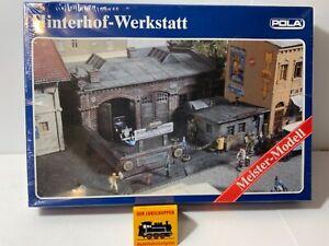 Pola 199 Hinterhof Werkstatt, Bausatz ungeöffnet in Folie,  H0/ 1:87 (K)