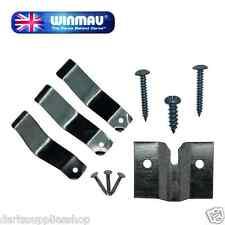 Dartboard Fixing Kit (Wall Bracket, Fixings & Instructions) by Winmau
