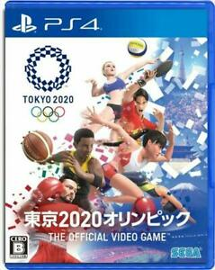 Used PS4 TOKYO 2020 Olympic The Official Video Game SEGA Japan