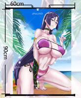 Anime Fate/Grand Order Minamoto no Raikou Wall Scroll Poster Home Decor 60*90cm