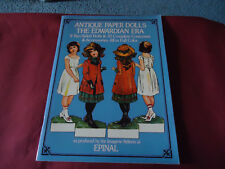 Antique Reproduction Paper Dolls - The Edwardian Era