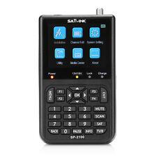 SATLINK SP-2100 HD Satfinder Messgerät HDMI DVB-S/S2 Satelliten Finder > WS-6906