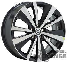 "19"" Nissan Altima Black wheel rim Factory Oem 2019 2020 2021 62785"