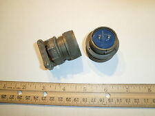 Used - Ms3106A 22-11P (Sr) - 2 Pin Plug