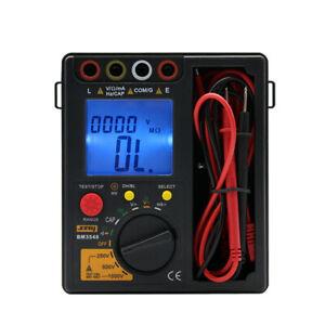 Portable Digital Insulation Resistance Meter Tester Multimeter megohmmeter Ohm
