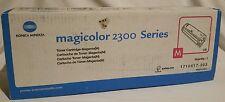 Konica Minolta Magicolor 2300 Series Magenta #1710517-003 toner new unopened