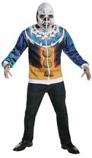 Adult IT Movie Pennywise Dancing Clown Halloween Hoodie with Mask Free Shipping
