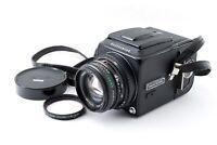 """EXC +5"" Hasselblad 500CM C/M Black + Planar C T* 80mm f2.8 A12 II Japan 7190"