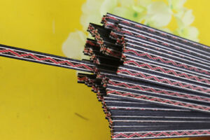 25x Strip Luthier Purfling Binding Marquetry Inlay Guitar Inlay 640x5x1.0mm #79
