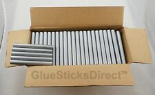 "Silver Metallic Faux Wax Glue Sticks 7/16"" X 4"" 5 lbs"