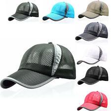 Men Women Breathable Golf Tennis Snapback Adjustable Baseball Cap Hip Hop Hat TM