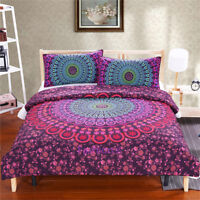 Mandala BOHO Single/Double/Queen/King Size Bed Doona/Duvet/Quilt Cover Set