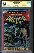 TOMB OF DRACULA #1 CGC 9.8 SS SIGNED 2X's  STAN LEE AND NEAL ADAMS #1604520008