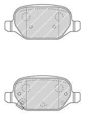KIT PASTIGLIE FRENI POSTERIORI FERODO FIAT PANDA '12-> 1.3 D Multijet 4x4 55 KW