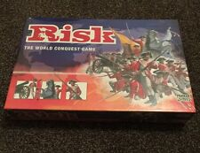 Risk Board Game By Parker 2004 Golden Cavalry Piece Edition New Classic Strategy