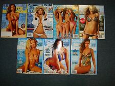 Sports Illustrated Swimsuit Issue 7 book lot 2011,2013,2014,2015 & all 3 2016