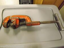 """RIDGID TOOLS No. 202 PIPE CUTTER, 1/8"""" to 2"""" CAPACITY"""